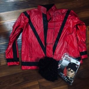 Other - Michael Jackson Thriller Faux Jacket Mens XL